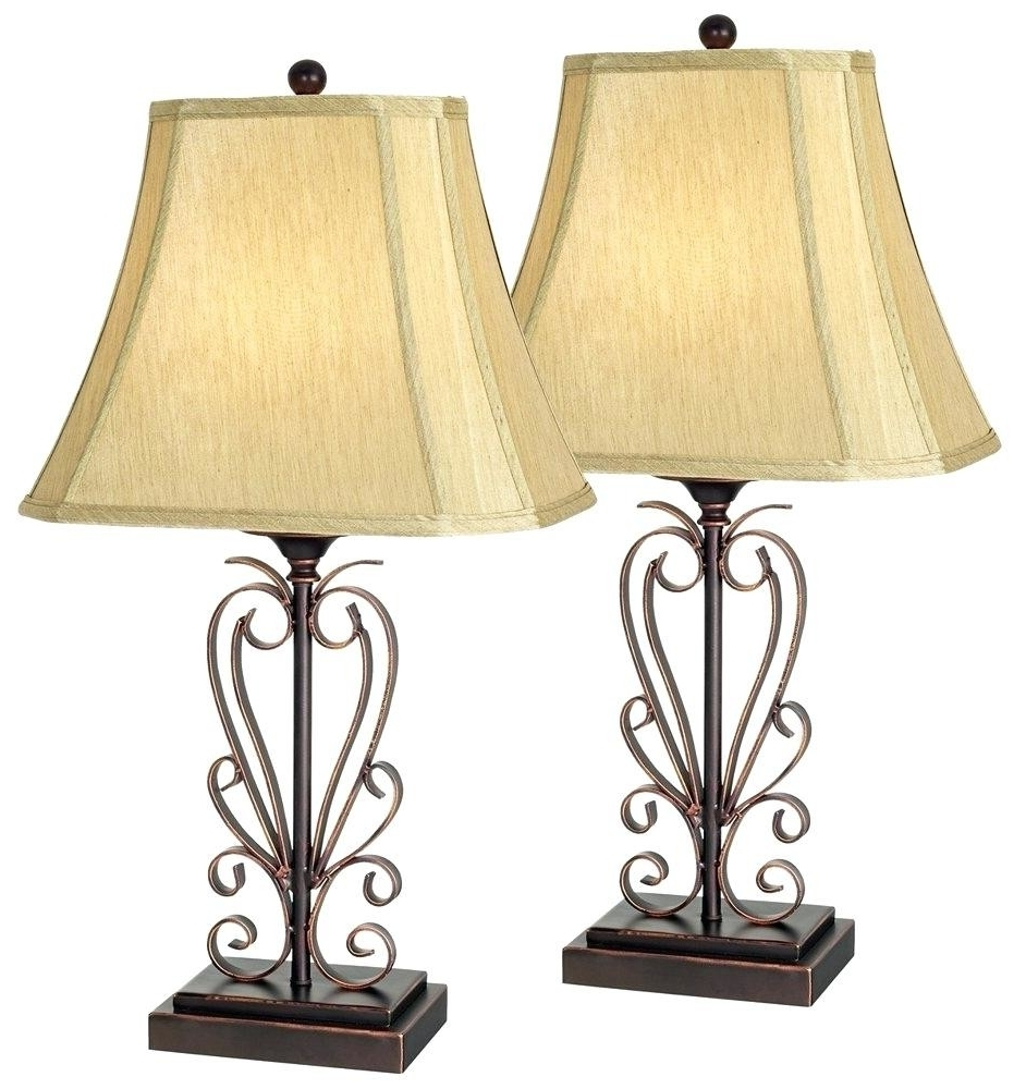 Wrought Iron Living Room Table Lamps With Most Popular Living Room Table Lamps Ideas Rustic Table Lamps Living Room Wrought (View 13 of 15)