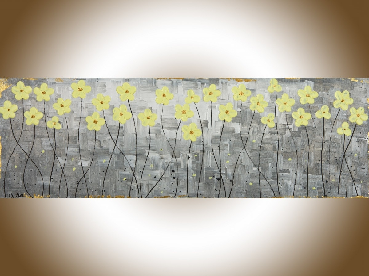 Yellow And Gray Wall Art for Well-liked 35 Yellow And Gray Wall Art, Yellow Wall Art Roselawnlutheran