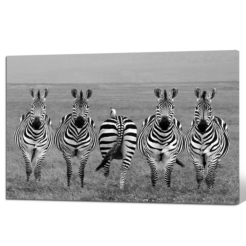 Zebra Canvas Wall Art With Well Known Buy Pink Zebra Canvas Wall Art In Cheap Price On M (View 13 of 15)