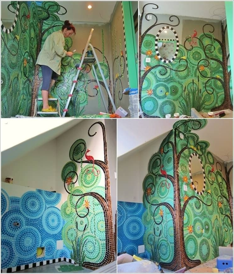 10 Mosaic Wall Art Ideas That Will Leave You Mesmerized Regarding Most Up To Date Mosaic Wall Art Kits (View 1 of 15)