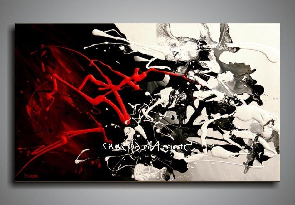 [%100% Hand Painted Discount Large Black White And Red Abstract Art Regarding 2018 Black And White Wall Art With Red|Black And White Wall Art With Red Within Well Known 100% Hand Painted Discount Large Black White And Red Abstract Art|2017 Black And White Wall Art With Red With Regard To 100% Hand Painted Discount Large Black White And Red Abstract Art|Trendy 100% Hand Painted Discount Large Black White And Red Abstract Art Regarding Black And White Wall Art With Red%] (View 2 of 15)