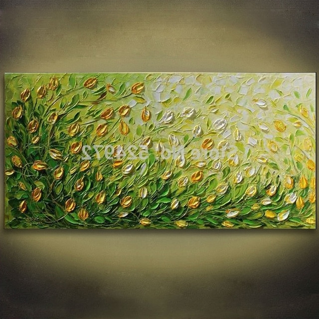 [%100% Hand Painted Modern Home Decor Abstract Wall Art Picture Green With Regard To Preferred Yellow And Green Wall Art Yellow And Green Wall Art For Most Popular 100% Hand Painted Modern Home Decor Abstract Wall Art Picture Green Latest Yellow And Green Wall Art Intended For 100% Hand Painted Modern Home Decor Abstract Wall Art Picture Green Trendy 100% Hand Painted Modern Home Decor Abstract Wall Art Picture Green With Yellow And Green Wall Art%] (View 2 of 15)