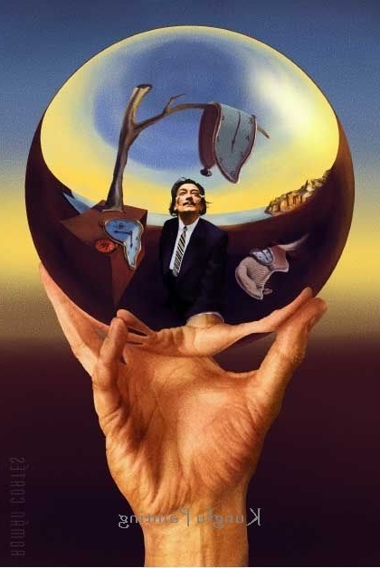 [%100% Hand Painted Salvador Dali Painting Dali Does Escher Wall Art Inside 2018 Salvador Dali Wall Art|Salvador Dali Wall Art Throughout Most Recent 100% Hand Painted Salvador Dali Painting Dali Does Escher Wall Art|Popular Salvador Dali Wall Art Intended For 100% Hand Painted Salvador Dali Painting Dali Does Escher Wall Art|Most Popular 100% Hand Painted Salvador Dali Painting Dali Does Escher Wall Art Throughout Salvador Dali Wall Art%] (View 1 of 15)