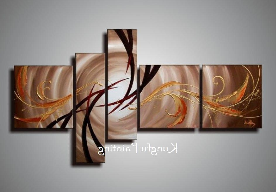 [%100% Hand Painted Unframed Abstract 5 Panel Canvas Art Living Room In Favorite Abstract Living Room Wall Art|Abstract Living Room Wall Art Inside Well Known 100% Hand Painted Unframed Abstract 5 Panel Canvas Art Living Room|2018 Abstract Living Room Wall Art Within 100% Hand Painted Unframed Abstract 5 Panel Canvas Art Living Room|Most Popular 100% Hand Painted Unframed Abstract 5 Panel Canvas Art Living Room With Regard To Abstract Living Room Wall Art%] (View 8 of 15)