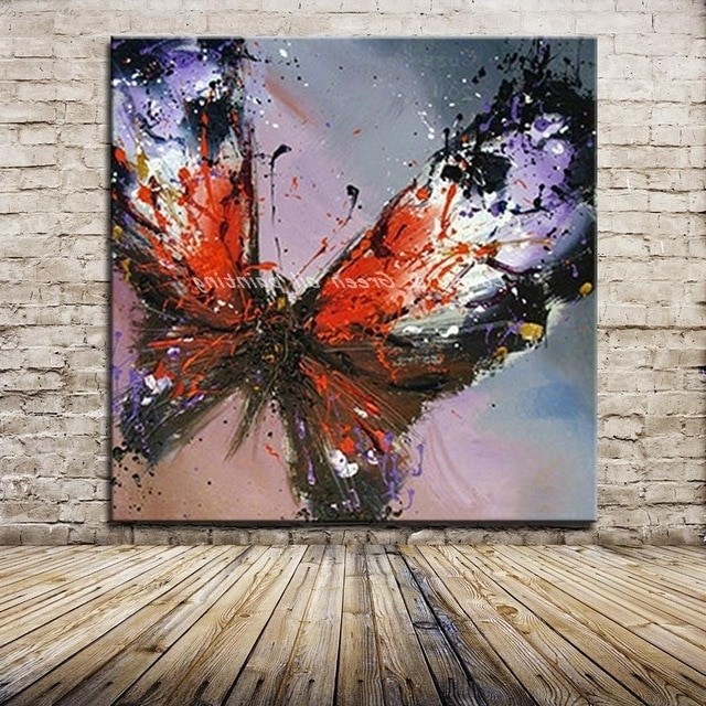 [%100% Handmade Modern Abstract Butterfly Oil Painting On Canvas Within Favorite Abstract Butterfly Wall Art|Abstract Butterfly Wall Art With Regard To Current 100% Handmade Modern Abstract Butterfly Oil Painting On Canvas|Well Known Abstract Butterfly Wall Art Inside 100% Handmade Modern Abstract Butterfly Oil Painting On Canvas|Well Liked 100% Handmade Modern Abstract Butterfly Oil Painting On Canvas Within Abstract Butterfly Wall Art%] (View 1 of 15)