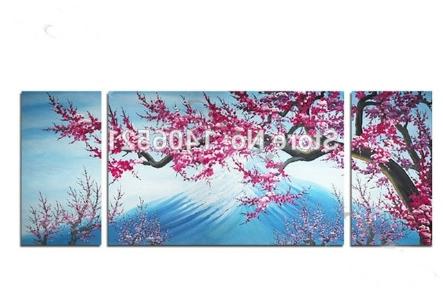 [%100% Handmade Oil Painting On Canvas Abstract Mount Fuji, Japan Regarding Recent Abstract Cherry Blossom Wall Art|Abstract Cherry Blossom Wall Art Regarding Famous 100% Handmade Oil Painting On Canvas Abstract Mount Fuji, Japan|Most Up To Date Abstract Cherry Blossom Wall Art Throughout 100% Handmade Oil Painting On Canvas Abstract Mount Fuji, Japan|Well Known 100% Handmade Oil Painting On Canvas Abstract Mount Fuji, Japan In Abstract Cherry Blossom Wall Art%] (View 9 of 15)