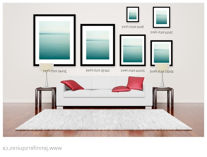 14. Large Wall Art Above Sofa Sizes For Canvases And Framed Prints in Trendy Sofa Size Wall Art
