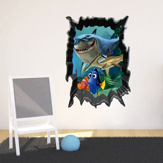 [%1438% Diy Finding Nemo Shark 3D Broken World Sea Fish 3D Wall Within Popular Fish 3D Wall Art|Fish 3D Wall Art Intended For Best And Newest 1438% Diy Finding Nemo Shark 3D Broken World Sea Fish 3D Wall|Best And Newest Fish 3D Wall Art With Regard To 1438% Diy Finding Nemo Shark 3D Broken World Sea Fish 3D Wall|Fashionable 1438% Diy Finding Nemo Shark 3D Broken World Sea Fish 3D Wall In Fish 3D Wall Art%] (View 12 of 15)