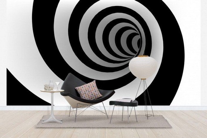 15 Outstanding Wall Art Ideas Inspiredoptical Illusions Regarding Favorite Illusion Wall Art (View 1 of 15)