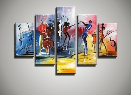15 Photos Abstract Jazz Band Wall Art, Jazz Wall Art – Swinki Morskie Regarding Well Known Abstract Jazz Band Wall Art (Gallery 4 of 15)