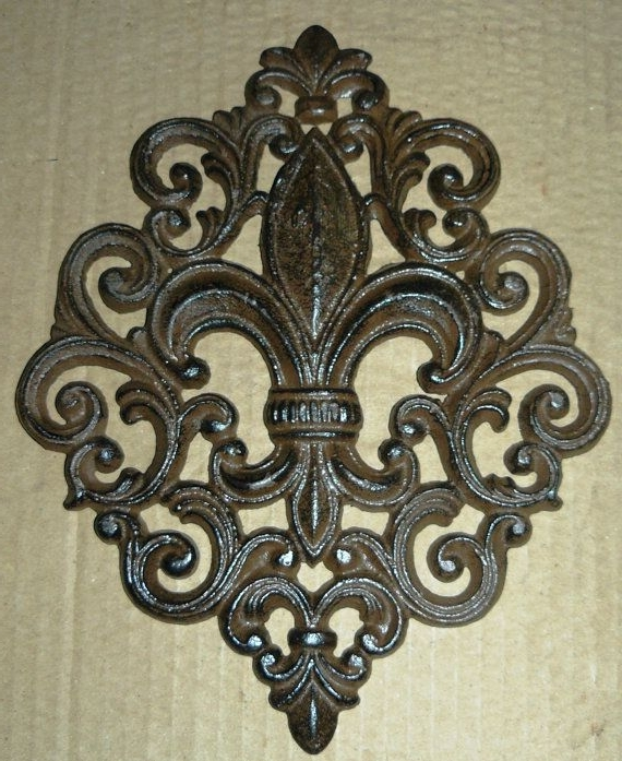 19 Fleur De Lis Wall Art, 25 Ideas Of Metal Fleur De Lis Wall Art Within Well Liked Metal Fleur De Lis Wall Art (Gallery 10 of 15)