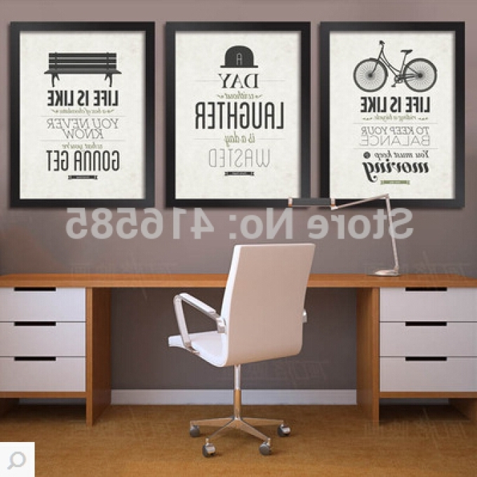 2 Inspirational Framed Wall Art For The Office, Framed Office In Preferred Inspirational Wall Art For Office (View 7 of 15)