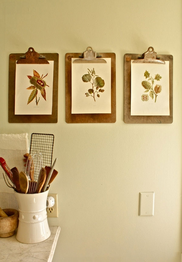 20 Art Inspirations For Your Kitchen Walls — Eatwell101 For Most Popular Wall Art For Kitchens (View 11 of 15)