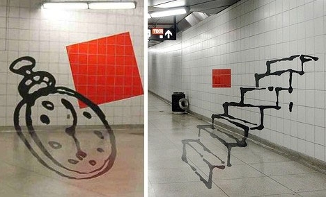 20 Artistic Wall Warping Architectural Optical Illusions (View 1 of 15)