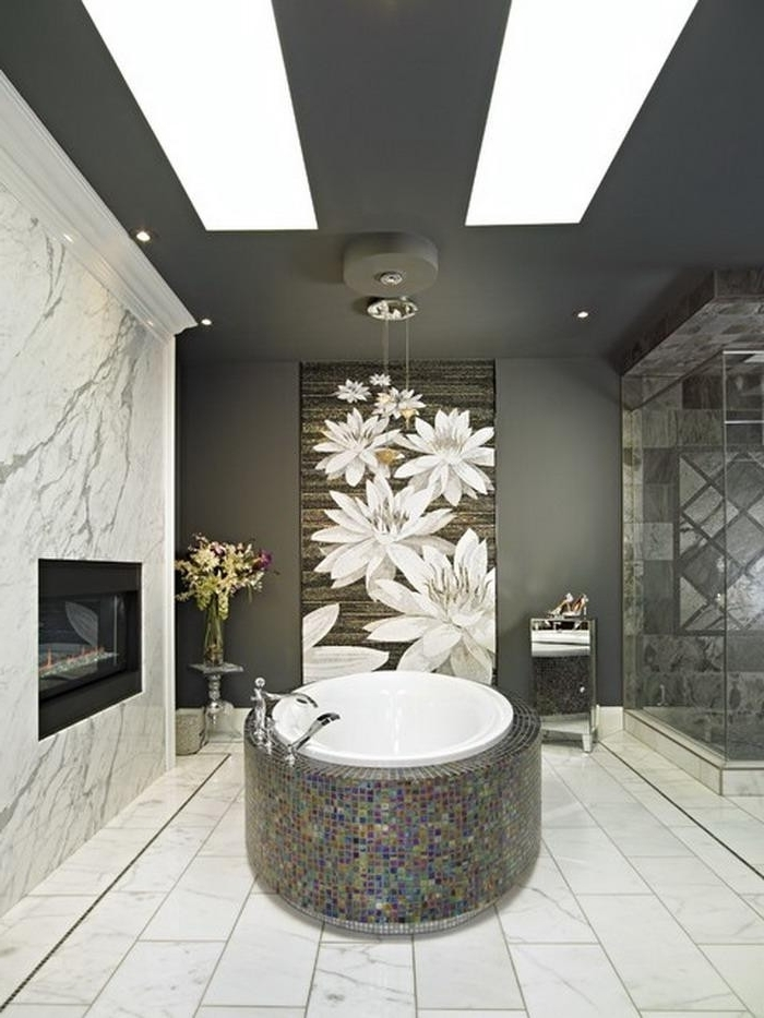 20 Inspirations Contemporary Bathroom Wall Art Ideas Bright With 2018 Contemporary Bathroom Wall Art (View 3 of 15)