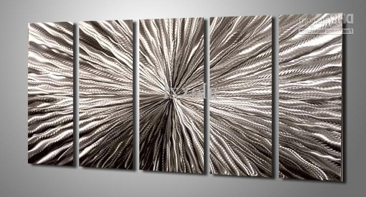 2017 2018 Metal Oil Painting,abstract Metal Wall Art Sculpture Painting Within Abstract Iron Wall Art (View 1 of 15)