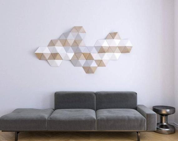 2017 3D Wall Art/ Sculpture/ 3D Wall Decoration/ Wooden Wall Decor/ (View 3 of 15)