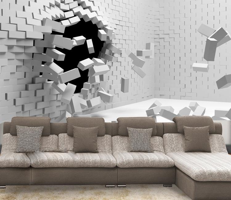 2017 3D Wall Art Wallpaper For 3D Wall Murals Wallpaper Group (69+) (View 1 of 15)
