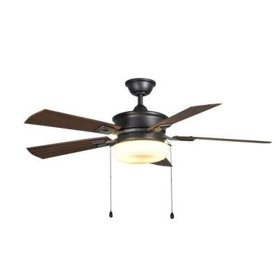 """2017 54"""" Lake George Large Indoor/outdoor Ceiling Fan – – Amazon Within Large Outdoor Ceiling Fans With Lights (View 10 of 15)"""