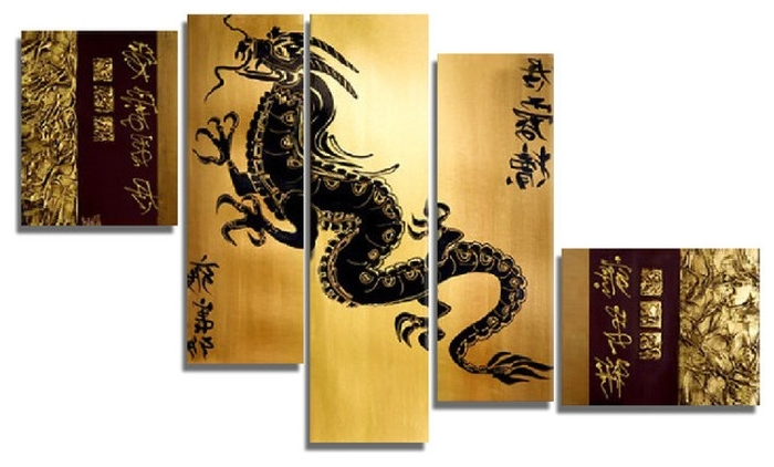 2017 6. Asian Wall Art Multi Panels Oriental Home Decor Wood Carved with Asian Wall Art Panels