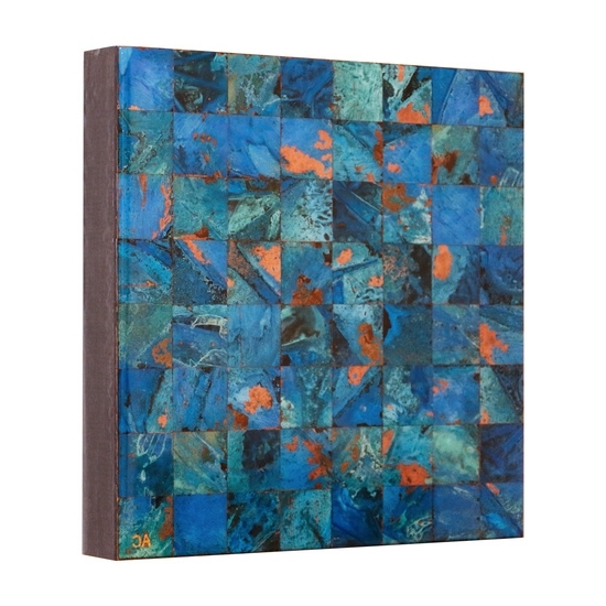 2017 Abstract Copper Wall Art Pertaining To Abstract Copper Wall Art – Online Art Gallery Of Contemporary Copper (View 4 of 15)
