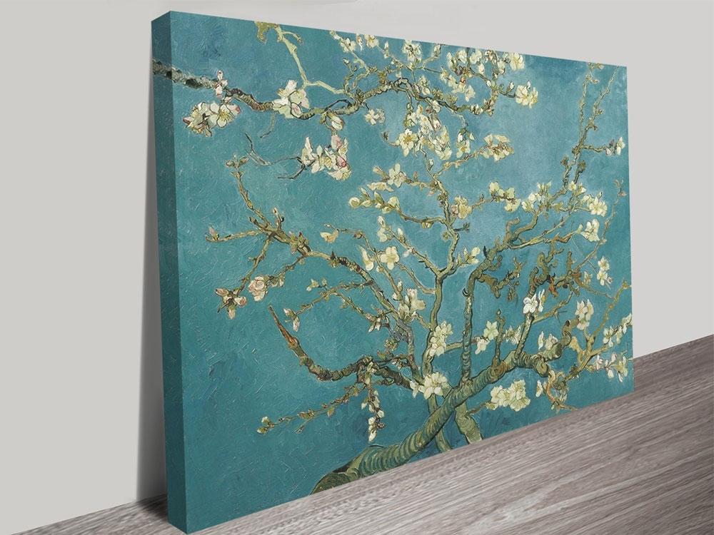 2017 Almond Blossom Canvas Art Printvincent Van Gogh Sydney Regarding Almond Blossoms Vincent Van Gogh Wall Art (View 8 of 15)