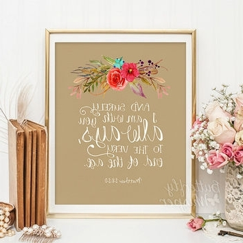 2017 Bible Verses Wall Art Throughout Shop Bible Verse Canvas On Wanelo (View 11 of 15)