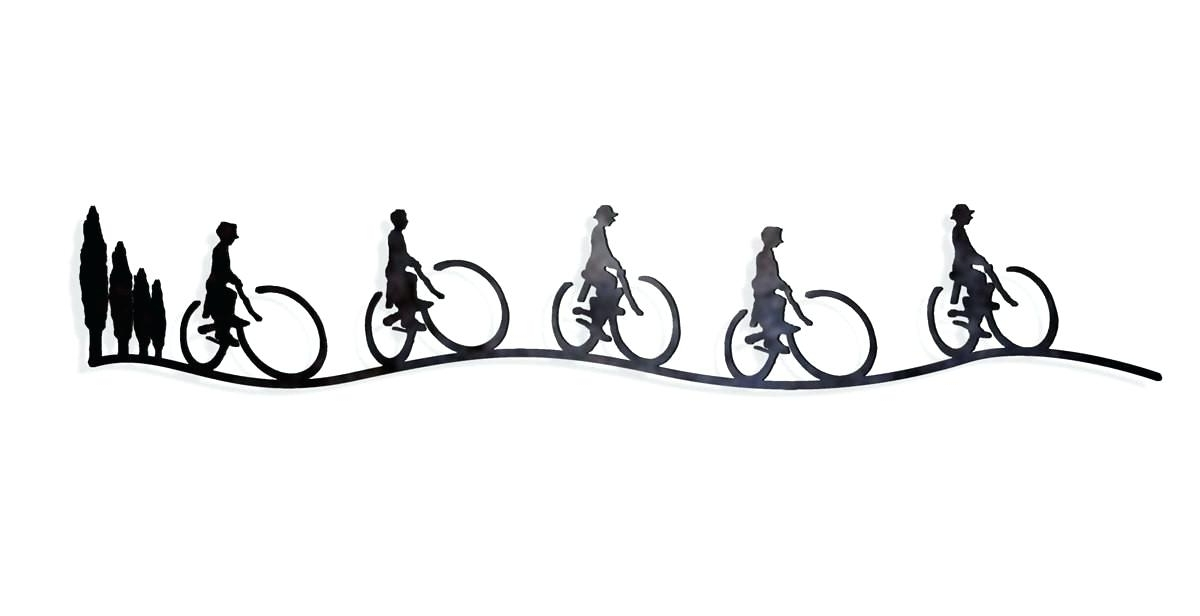 2017 Bicycle Wall Art Decor Regarding Bicycle Wall Art Decor Wrought Iron Bicycle Wall Decor Metal Bicycle (View 13 of 15)
