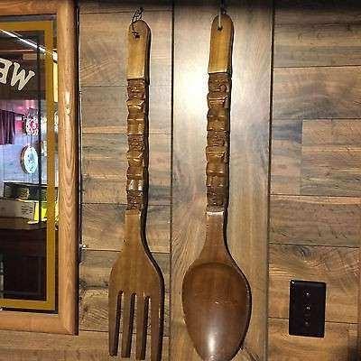2017 Big Spoon And Fork Wall Decor Regarding B Big Spoon And Fork Wall Decor With Metal Wall Decor (View 3 of 15)