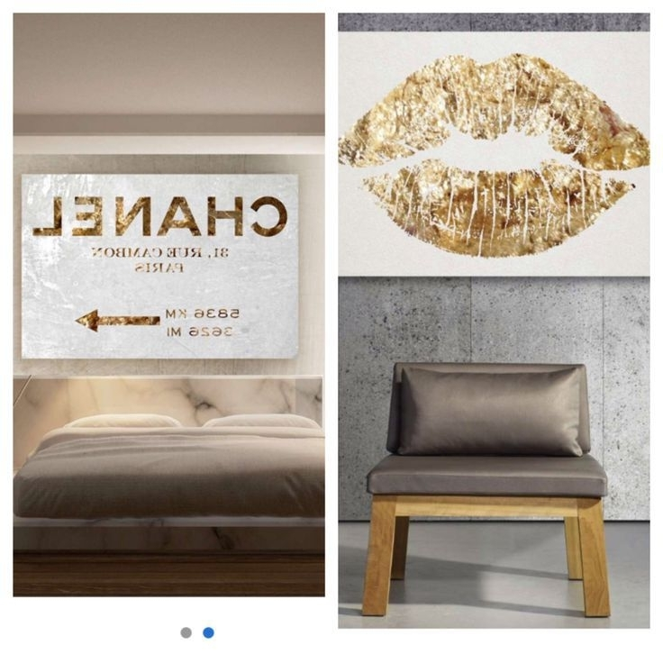 2017 Chanel Wall Art Australia Paris Bedroom Decor Ebay – Home Decorating Regarding Chanel Wall Decor (View 1 of 15)