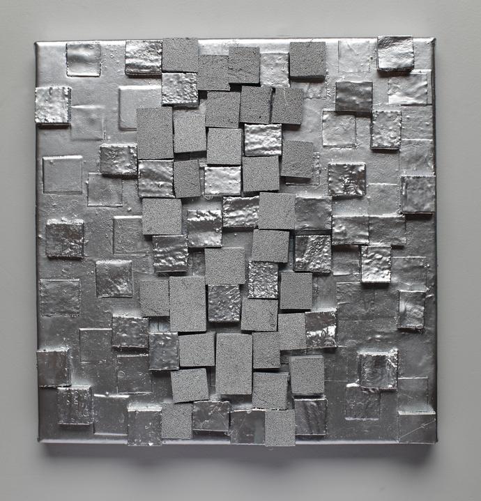 2017 Contemporary 3D Wall Art Within 3D Wall Art, Texture, Contemporary Art, Homesemelart On Zibbet (View 1 of 15)