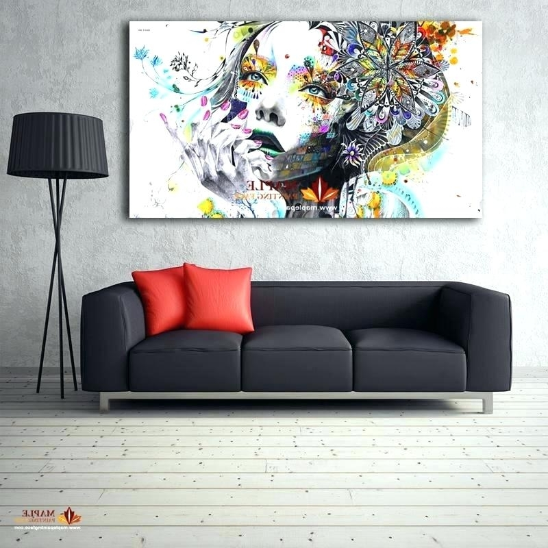 2017 Contemporary Wall Art For Living Room Wall Art Ideas Design Massive Throughout Oversized Wall Art Contemporary (Gallery 12 of 15)
