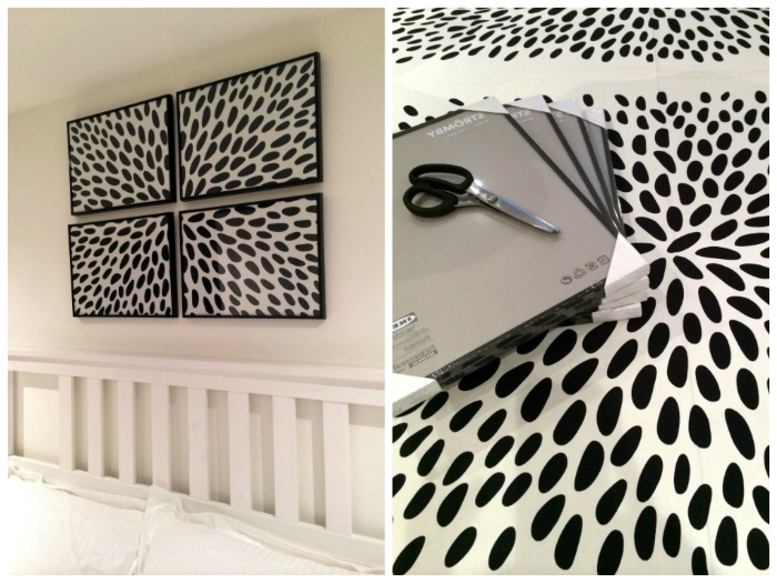 2017 Framed Fabric Wall Art With Diy: Framed Fabric Wall Art (Gallery 13 of 15)