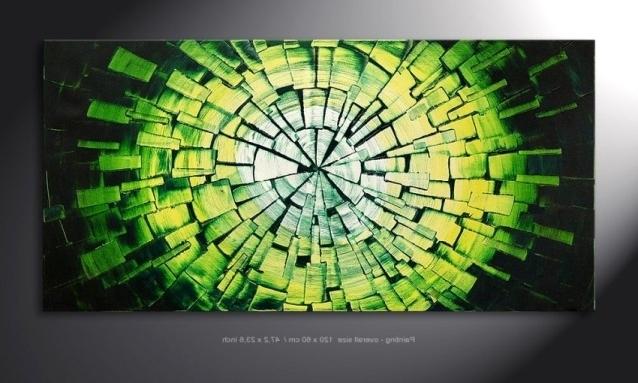 2017 Green Abstract Wall Art Throughout Best Abstract Art Design Ideas Ideas Interior Design, Green Wall Art (View 2 of 15)