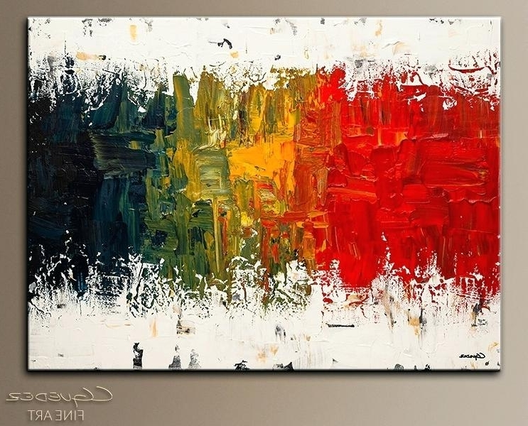 2017 Huge Abstract Wall Art Spectrum Abstract Artabstract Wall Art Pertaining To Large Abstract Wall Art Australia (View 1 of 15)