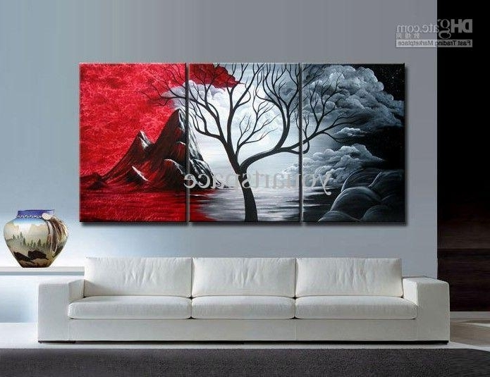 2017 Large Cheap Wall Art In Wall Art Large Cheap Modern Abstract Oil Painting Canvas Best (View 2 of 15)