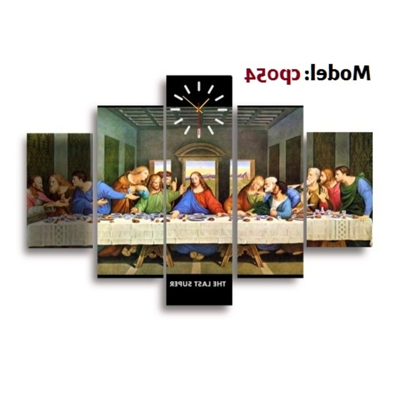 2017 Last Supper Christian Canvas Wall Art – Kcommie Store Throughout Christian Canvas Wall Art (Gallery 14 of 15)
