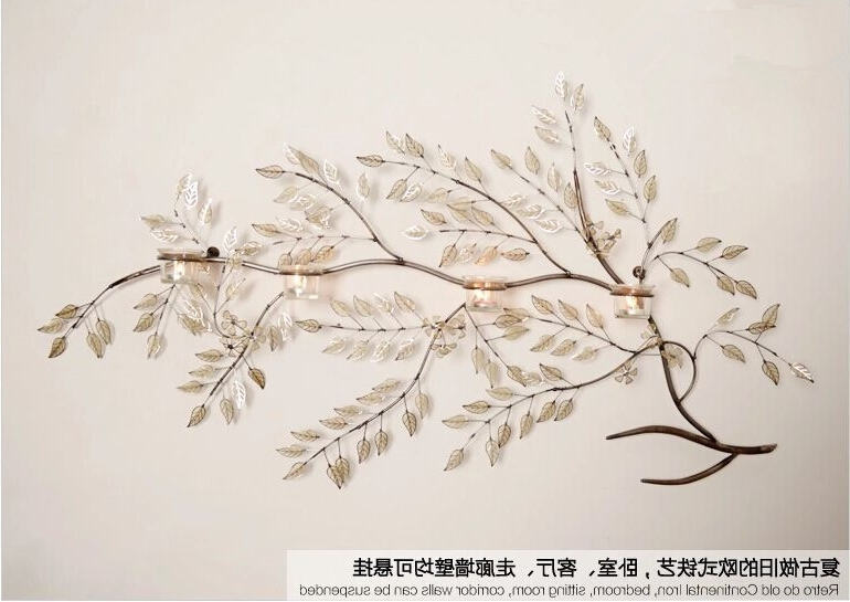 2017 Metal Wall Art Trees And Branches With Regard To Wall Art Decor Ideas: Aliexpress Metal Wall Art Branches, Branches (View 1 of 15)