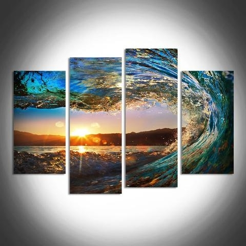 2017 Multiple Panel Wall Art for Great Wave X X D Da E Cdddb Large Photo Album For Website Multi