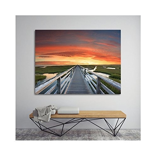 2017 Nautical Canvas Wall Art With Regard To Amazon: Canvas Wall Art, Beach Photography, Cape Cod Artwork (Gallery 4 of 15)