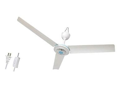 "2017 Outdoor Ceiling Fan No Electricity In Electric 24"" Portable 4 Blade Mini 110V Ac Ceiling Fan Easy Hang (View 3 of 15)"