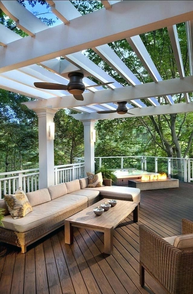 Featured Photo of Outdoor Ceiling Fans For Screened Porches