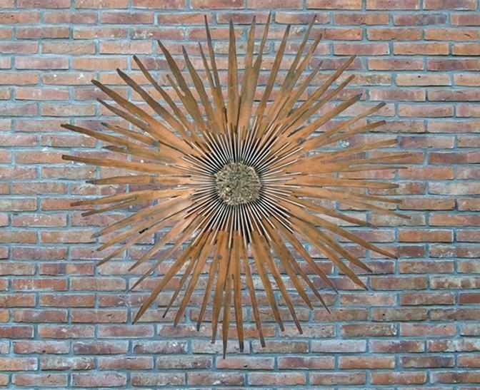 2017 Outdoor Iron Wall Art Fashionable Iron Wall Decor Outdoor Iron In Wrought Iron Garden Wall Art (View 15 of 15)