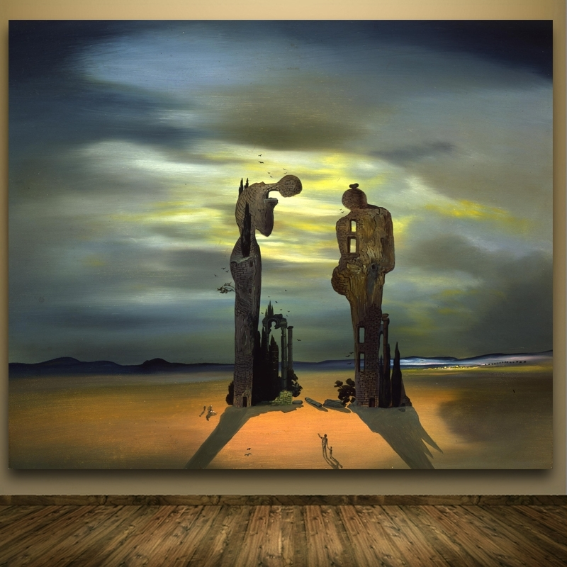 2017 Salvador Dali Wall Art In Modern Abstract Portrait Paintingsalvador Dali Wall Pictures (View 3 of 15)