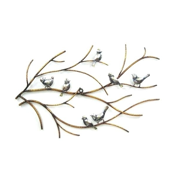 2017 Target Bird Wall Decor For Metal Bird Wall Art – Everywear (View 15 of 15)