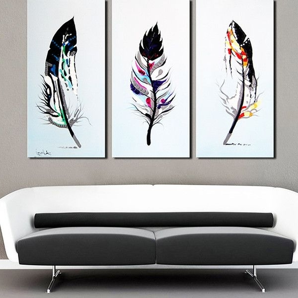 2017 Three Piece Wall Art Sets With 44 3 Piece Wall Art Set, Signature Designashley Wall Art (View 10 of 15)