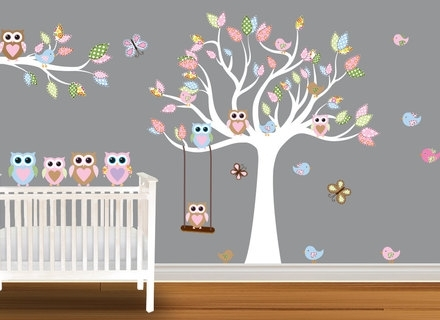 2017 Wall Art Decor Ideas: Marvelous Etsy Nursery Wall Art Tree, Etsy Regarding Etsy Childrens Wall Art (View 2 of 15)