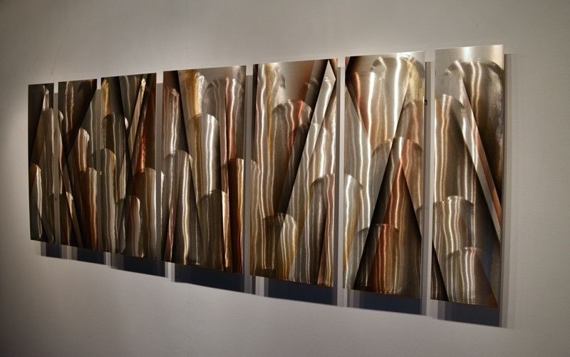 2017 Wall Decor Panels Modern Metal Wall Decor Panels Modern And Within Abstract Metal Wall Art Panels (View 2 of 15)