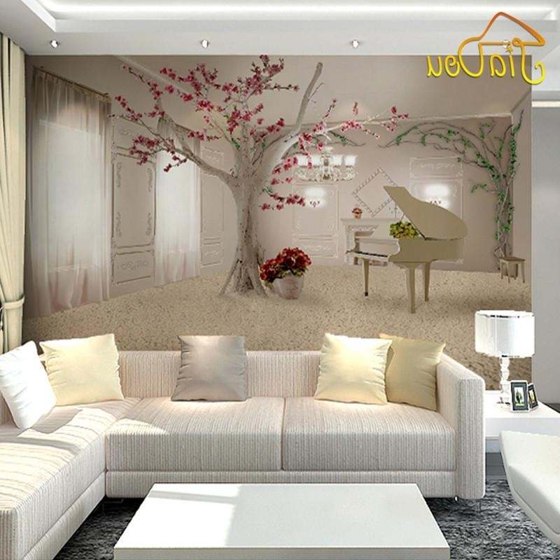 2017 Wholesale Custom Any Size 3D Wall Murals Wallpaper For Living Room Within 3D Wall Art Wholesale (View 11 of 15)