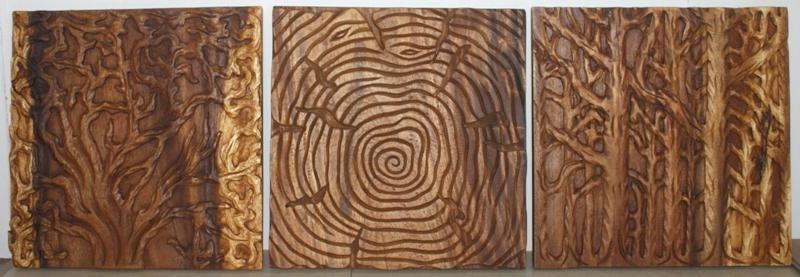 2017 Wood Panel Wall Art For Panel Wall Decor Distressed Wood Panel Wall Decor – Pointti (View 13 of 15)